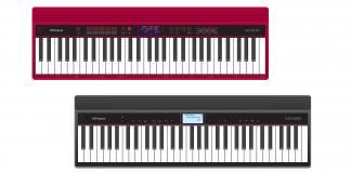 Roland is looking for portability in music production with just released GO:KEYS and GO:PIANO keyboards