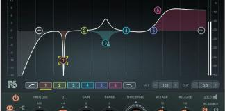 Waves Audio is shipping the Waves F6 Floating-Band Dynamic EQ Plugin